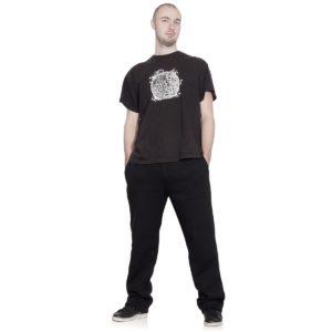 czarne spodni dresowe